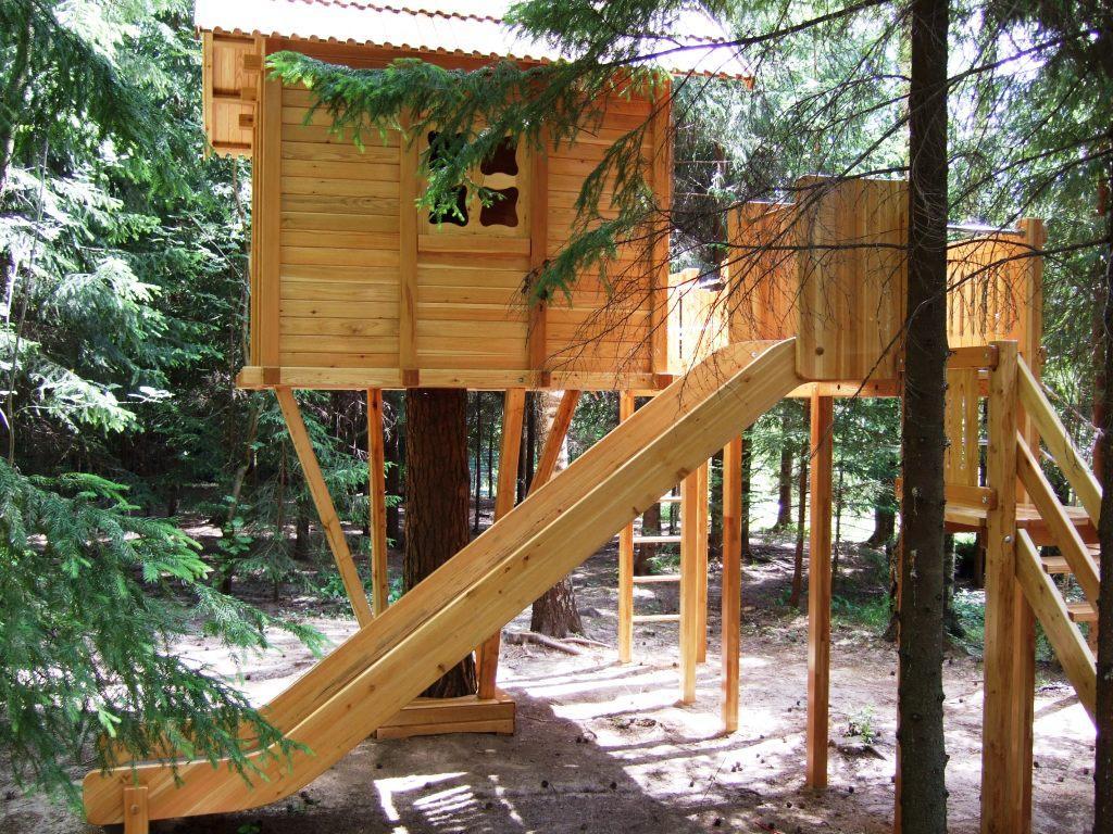 Как сделать мне ребенку дом на дереве 423